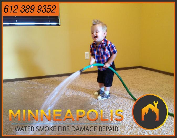 water damage minneapolis MN fire smoke removal restoration 515