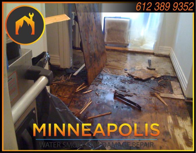 water damage minneapolis MN fire smoke removal restoration 516