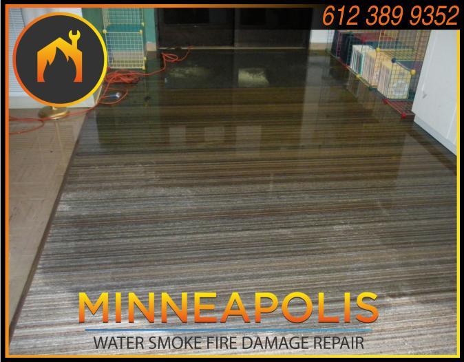 water damage minneapolis MN fire smoke removal restoration 520