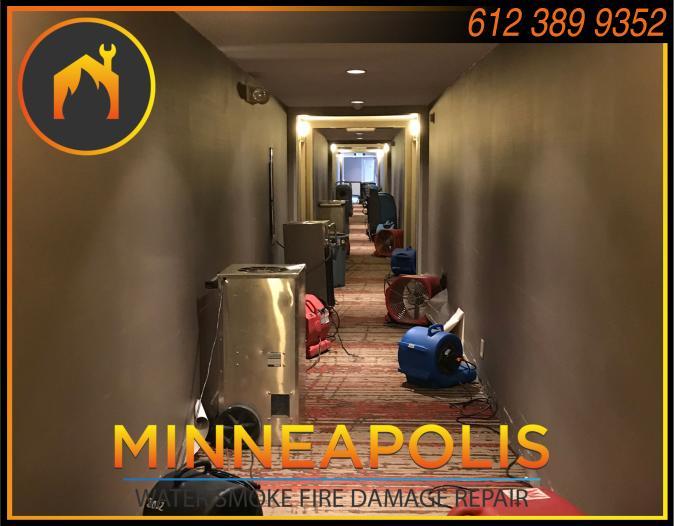 water damage minneapolis MN fire smoke removal restoration 533