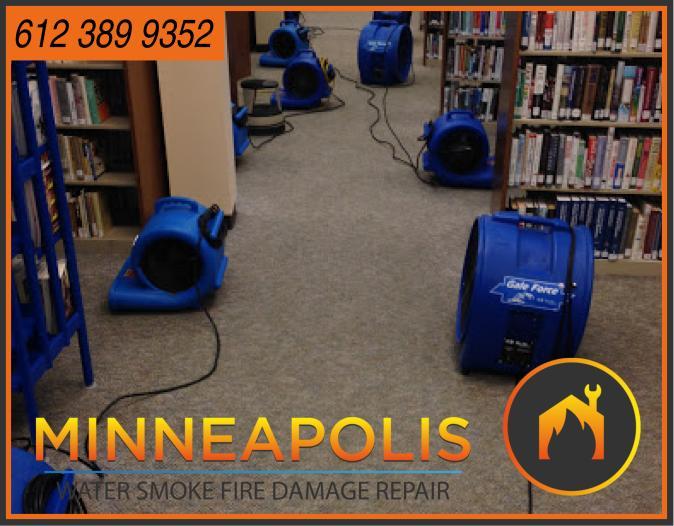 water damage minneapolis MN fire smoke removal restoration 538