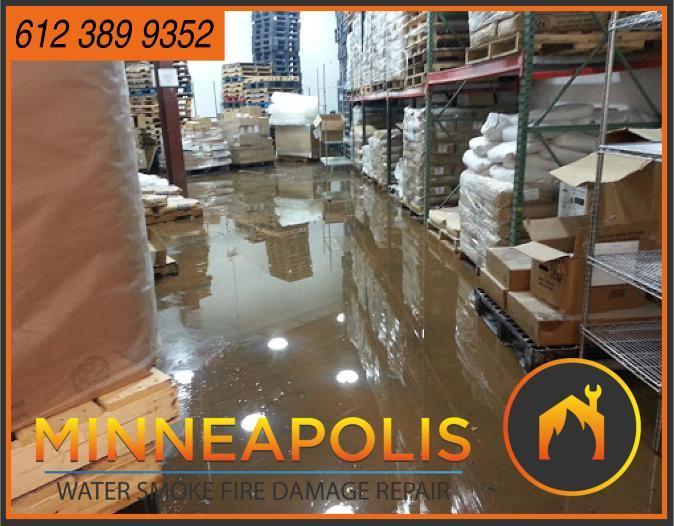 water damage minneapolis MN fire smoke removal restoration 539
