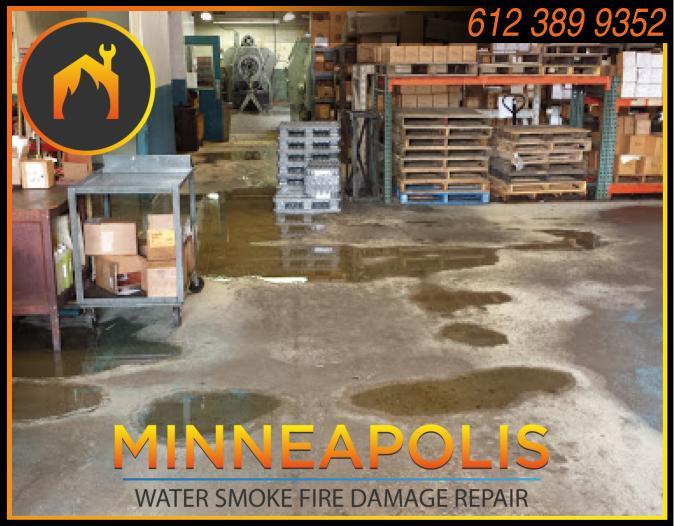 water damage minneapolis MN fire smoke removal restoration 540
