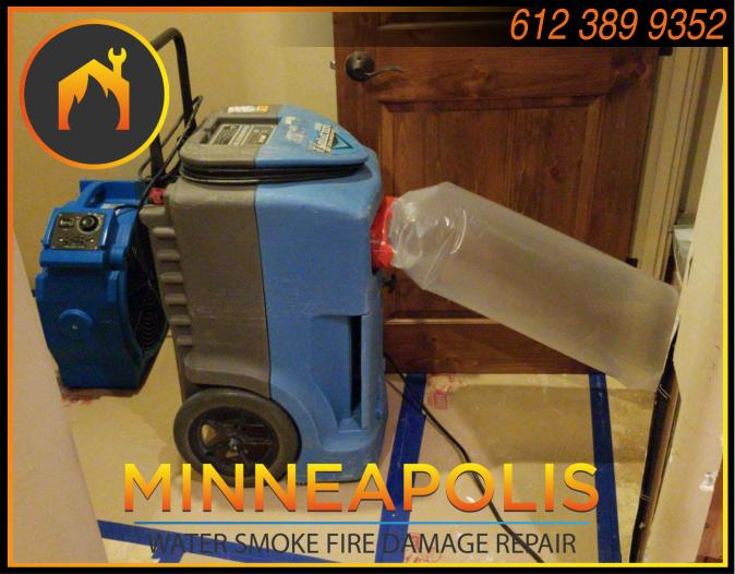water damage minneapolis MN fire smoke removal restoration 543