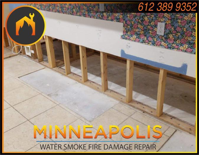 water damage minneapolis MN fire smoke removal restoration 545