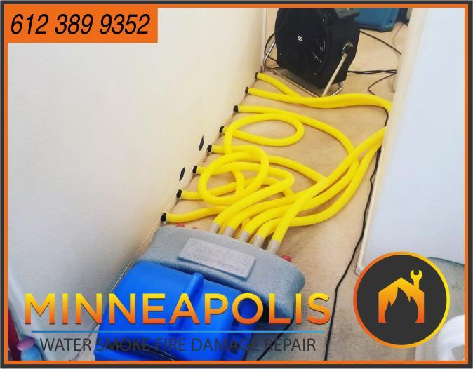 water damage minneapolis MN fire smoke removal restoration 548