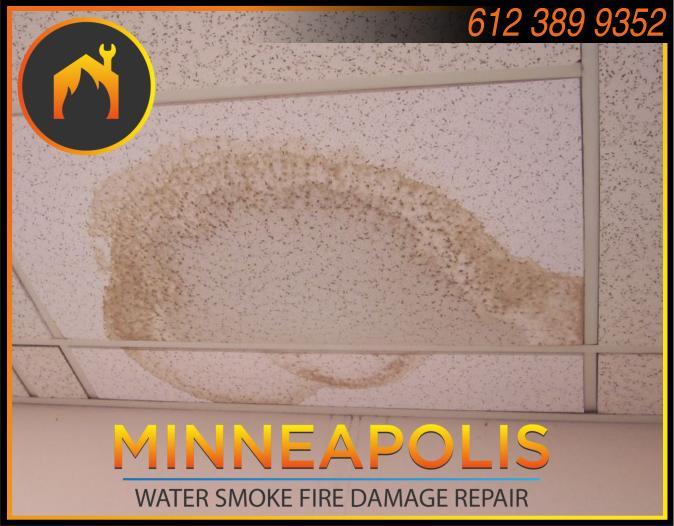 water damage minneapolis MN fire smoke removal restoration 552