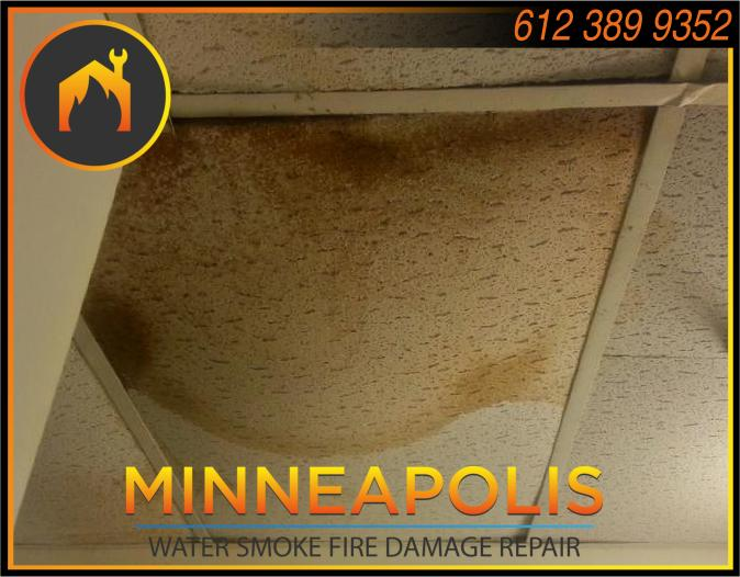water damage minneapolis MN fire smoke removal restoration 554