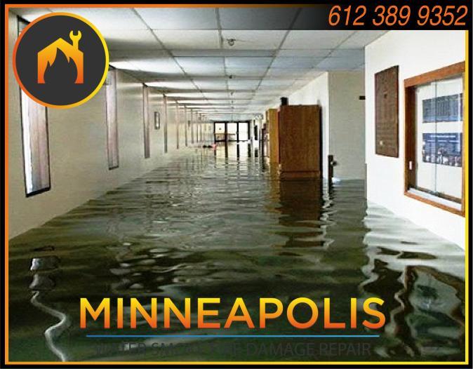 water damage minneapolis MN fire smoke removal restoration 555