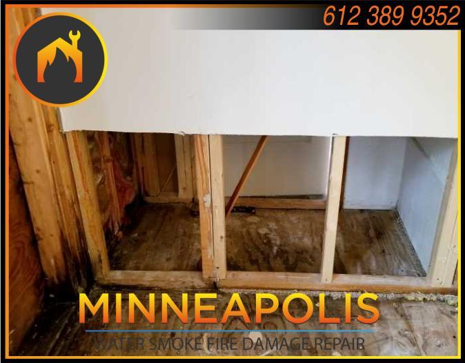 water damage minneapolis MN fire smoke removal restoration 556