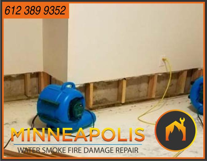 water damage minneapolis MN fire smoke removal restoration 558