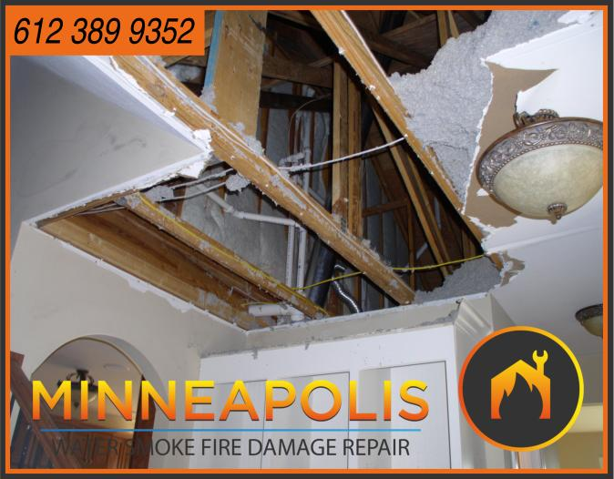 water damage minneapolis MN fire smoke removal restoration 559
