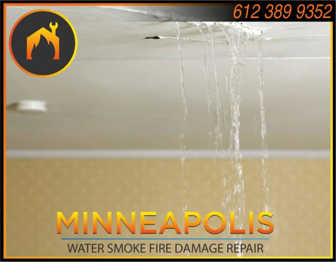water damage minneapolis MN fire smoke removal restoration 565