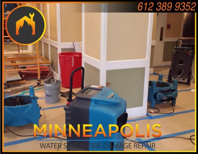 water damage minneapolis MN fire smoke removal restoration 566