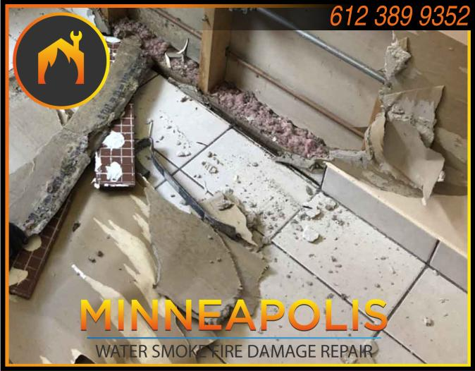 water damage minneapolis MN fire smoke removal restoration 567