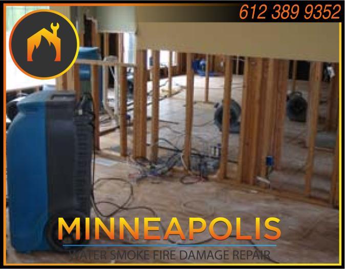 water damage minneapolis MN fire smoke removal restoration 569