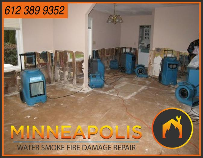 water damage minneapolis MN fire smoke removal restoration 574