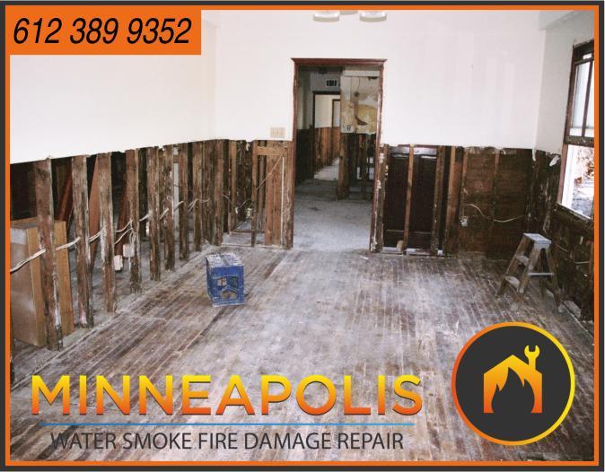water damage minneapolis MN fire smoke removal restoration 575